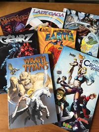 Seven Graphic Novels