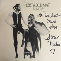 Stevie Nicks Signed Album