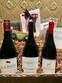 Oregon Pinot Noir Trio, Wine Tasting, and Chocolate
